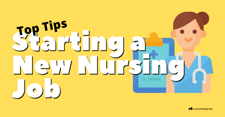 10 Must-Know Tips for Starting a New Nursing Job