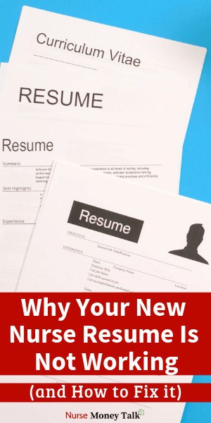 This article is going to give you tips on crafting the perfect new nurse graduate resume. #nursing #resume