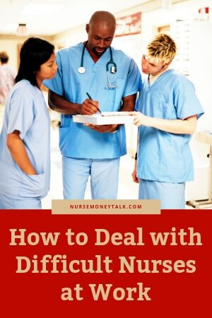 3 nurses talking to each other