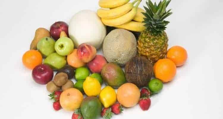 picture of different healthy fruits