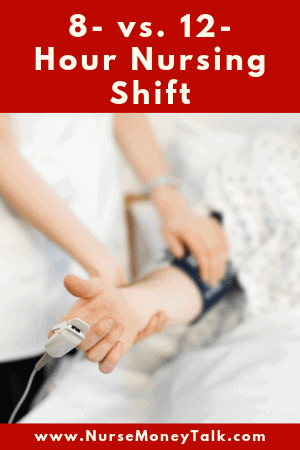 patient care on a nursing shift