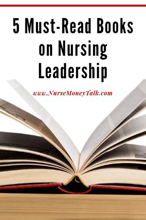 picture of nurse leader books