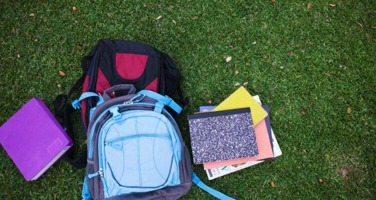 picture of nursing student backpacks