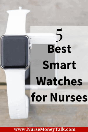 An apple smartwatch for nurses