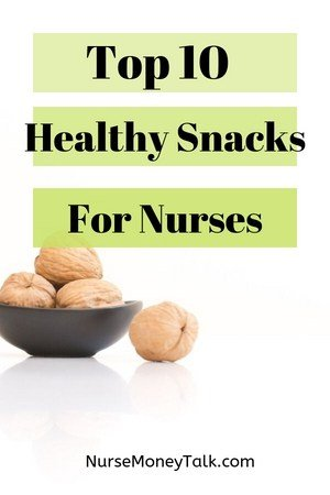 a healthy nurse snack