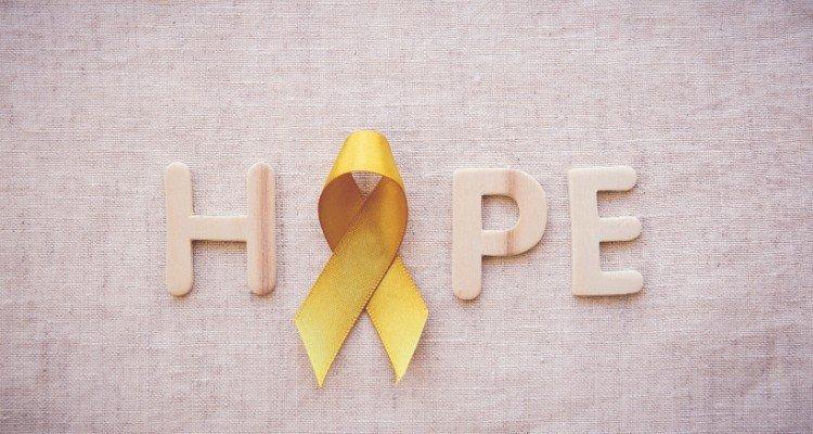 pediatric cancer gold ribbon