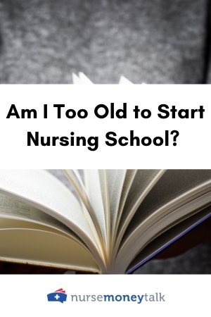a nursing school book