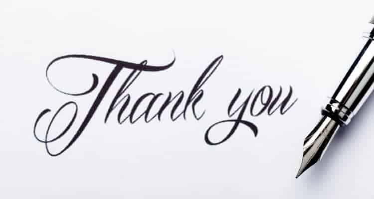 Nursing Thank You Letter from nursemoneytalk.com