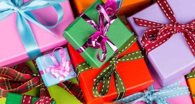 gifts that are wrapped