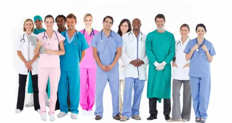 different nurse specialties and types