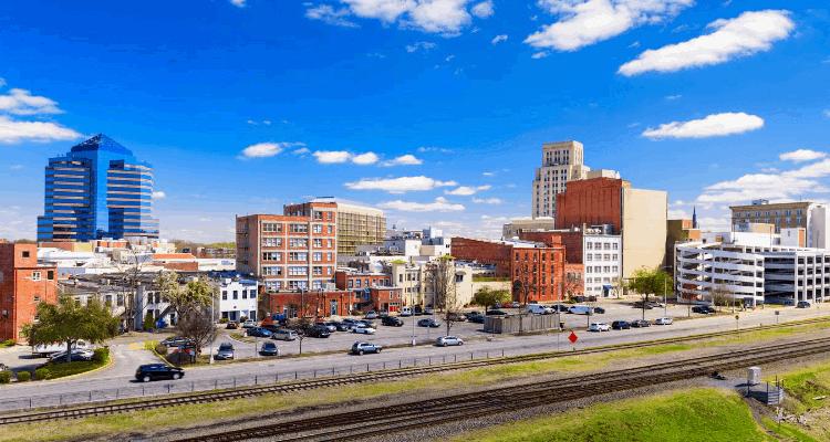 Durham, North Carolina City View
