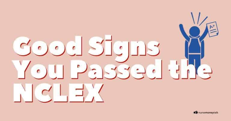 5 Good Signs You Passed the NCLEX
