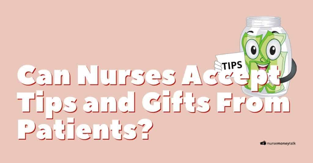 nurses accepting tips and gifts featured image