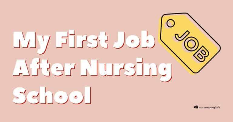 How to Get a Job After Nursing School